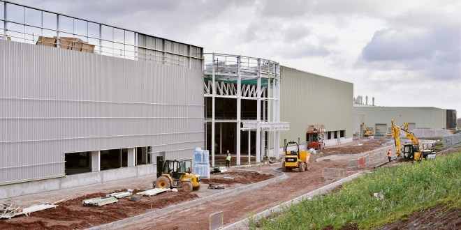The new JCB Cabs factory takes shape
