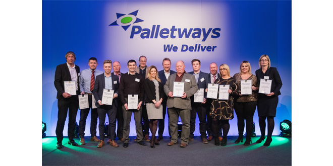 PALLETWAYS MEMBERS ARE AWASH WITH AWARDS