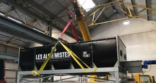 Tidy Planet ships bespoke composter to island in Paris River Seine
