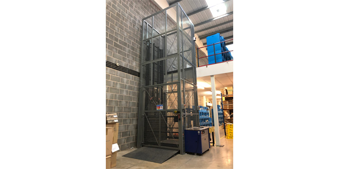 Advanced Handling Optimise Gardiner Bros & Co New Facility with Bespoke Goods Lift