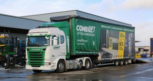 COMBILIFT INCREASES EFFICIENCY FOR DELIVERING ITS PRODUCTS THROUGH CARTWRIGHT TRAILERS