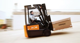 Doosan launches advanced 3-wheel electric B15R-7 Series