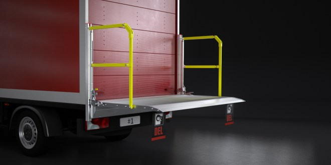 Hiab launches next generation column lift DEL DL500