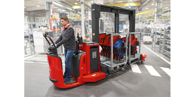 Linde Materials Handling launches its latest vehicle development, the Linde Trolley Supply Truck