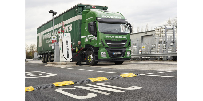 Woodside Haulage hits the gas with IVECO Stralis NP