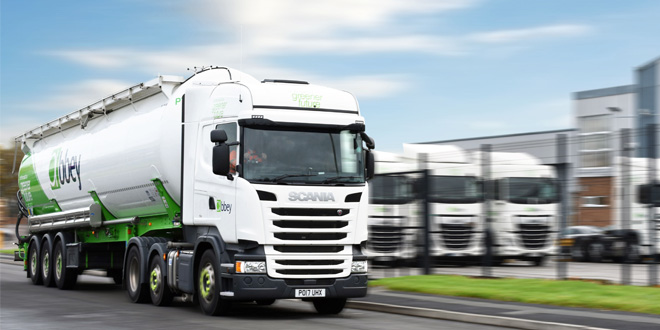 Abbey Logistics win Microlise Driver Excellence Award