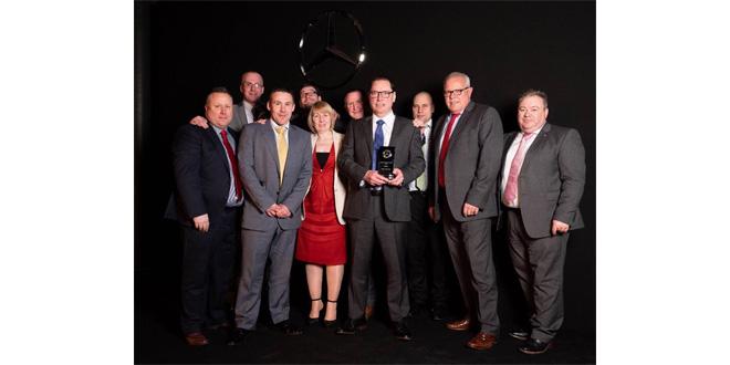 Roanza Truck & Van scoops Mercedes-Benz Trucks sales award