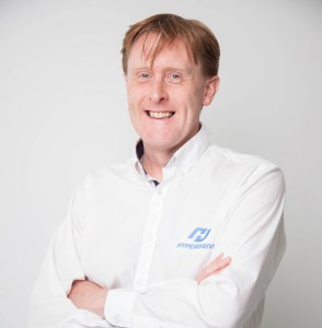 Stephen Irish co-founder of Hyperdrive Innovation
