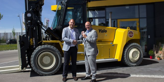 Yale dealers Helmut Reiter and Ziegler Gabelstapler boost rental fleets with highest capacity truck to date
