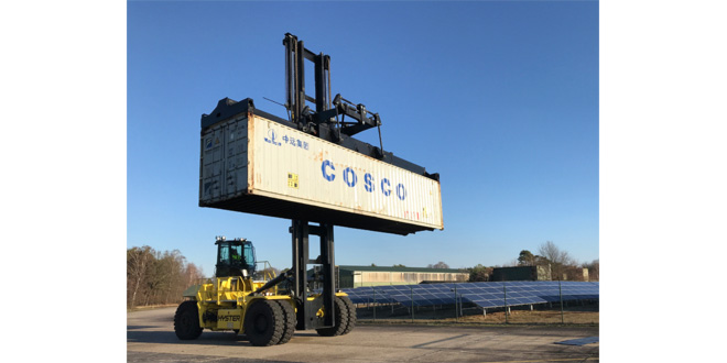 Hyster® Electric Container Handlers progress