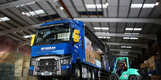 MP MORAN AND SONS BUILDS 100 percent RENAULT TRUCKS FLEET