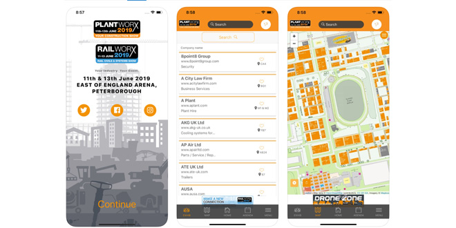 Plantworx 2019 has its very own App!