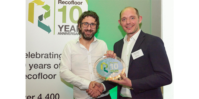 Recofloor celebrates recycling award winners