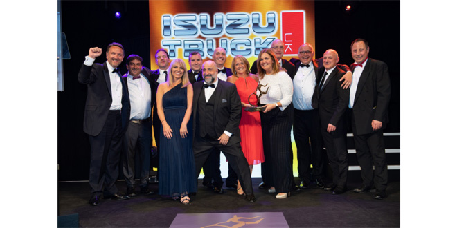 DPD doubles-up at the motor transport industry Oscars