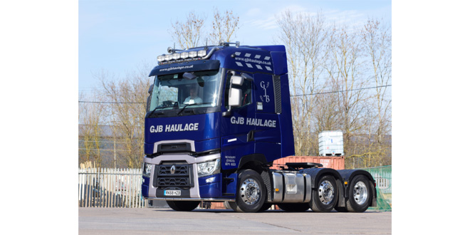 GJB HAULAGE RATES RANGE T520 HIGH FOR LOOKS COMFORT AND DRIVER ACCEPTANCE
