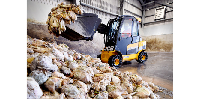 JCB machinery delivers for Guernsey new 32 million GBP waste transfer station and recycling centre