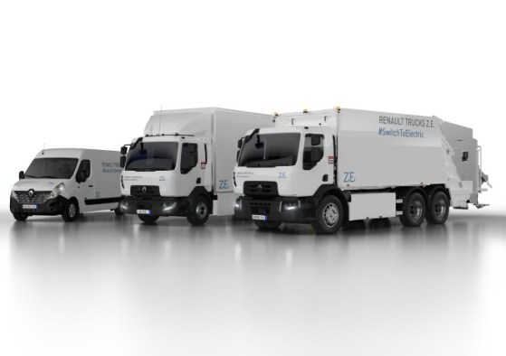 Renault Trucks electric vehicles
