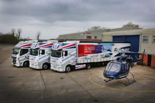 SCHMITZ CARGOBULL SMART CURTAINSIDERS HELP ALCALINE NEW DELIVERY SERVICE TAKE OFF