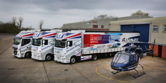 Schmitz Cargobull's smart curtainsiders help Alcaline's new delivery service take off