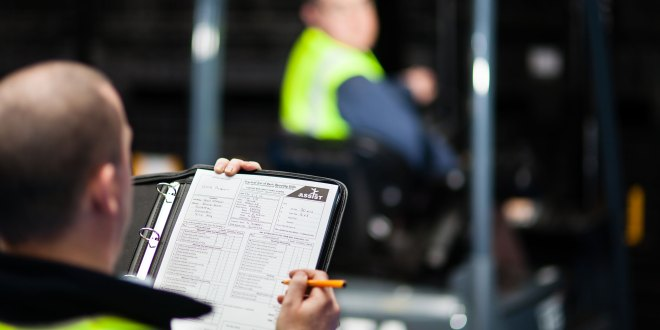 Safety risks as employers fail to issue authorisation to operate lift trucks