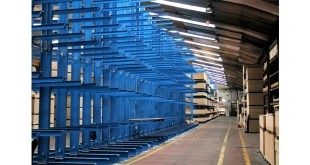 Fabricados Reyna Storage capacity increased by 50 percent with OHRA cantilever racking