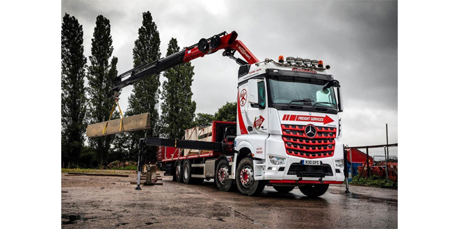 Griffin Freight Services swoops for another 11 Mercedes-Benz trucks