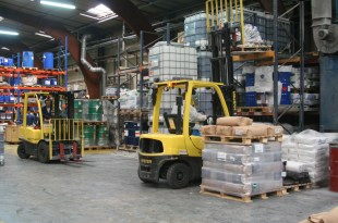HYSTER EUROPE SAFELY HANDLING FLAMMABLE MATERIAL IN THE CHEMICAL SUPPLY CHAIN