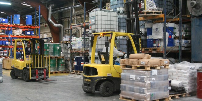 Safe handling flammable material in the chemical supply chain