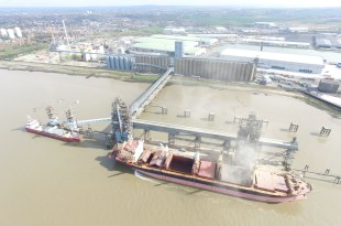 PORT OF TILBURY CELEBRATES 50TH ANNIVERSARY OF GRAIN TERMINAL
