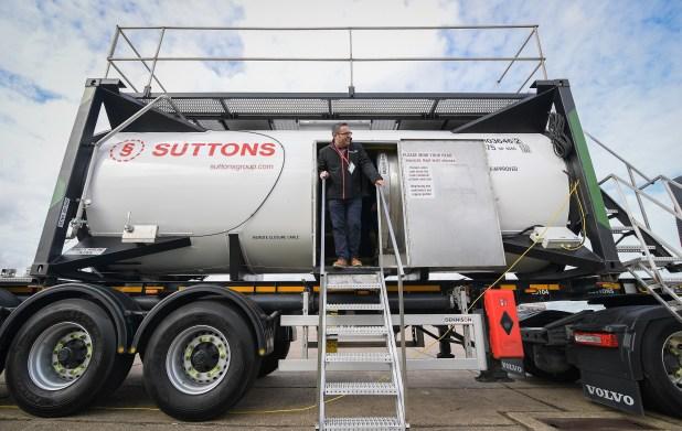 Suttons innovative training tank