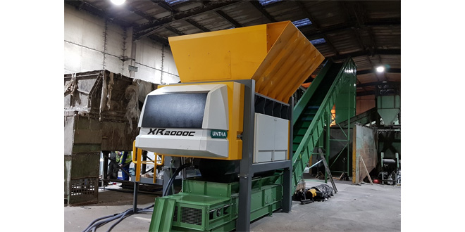 Zero Waste to Landfill business boosts RDF capabilities with UNTHA shredder