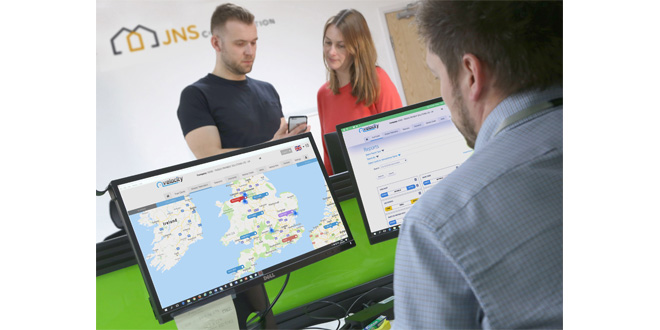 Kinesis Protects JNS Construction Workers and Assets with Real Time Tracking
