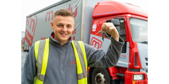 Moody Logistics trucking apprentice Alex shifts from 'Warehouse to Wheels'