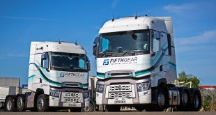 RANGE T HIGH TO SHOWCASE FIFTH GEAR TRANSPORT'S NEW LIVERY