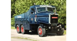 Vintage Scammel comes home to Pickfords