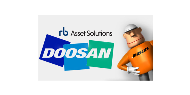 Doosan Infracore Europe partners with Ritchie Bros and Mascus