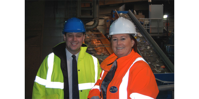 Tees Valley Mayor praises J&B Recycling for Tees Valley employment milestone