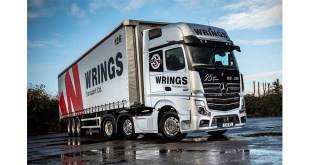 Wrings celebrates in style with anniversary Actros Edition 1 from Mercedes-Benz