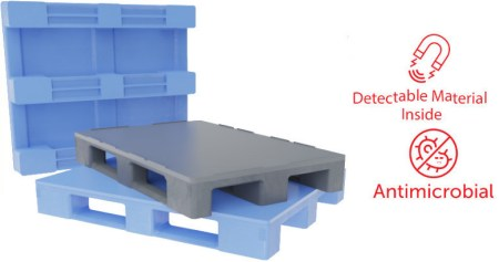 Dolav MH 1000 plastic pallet new at Foodex 2020