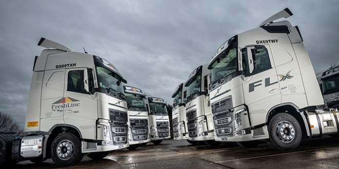 Volvo increases share of FreshLinc's fleet with 20 new FH Tractors