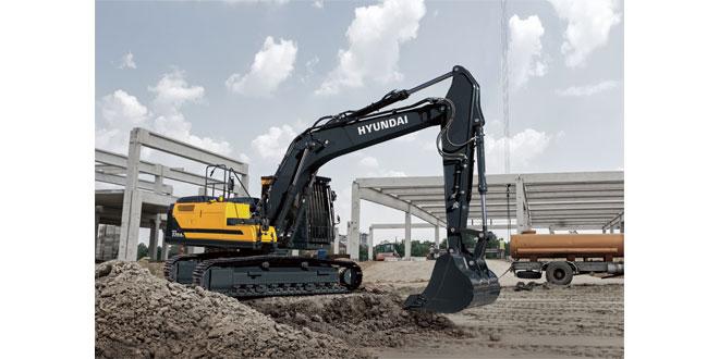 Hyundai launch the new A-series HX220AL excavator