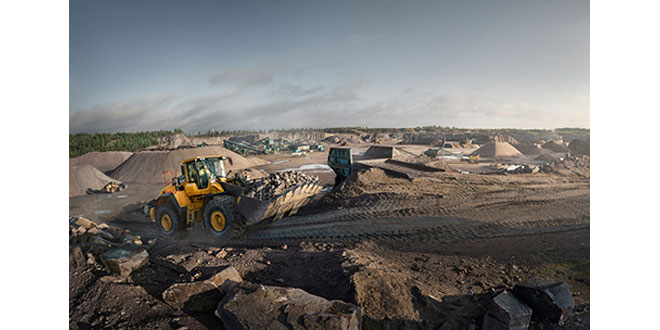 Volvo H-Series wheel loaders L60H up to L350H receive an update