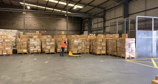 INTERNATIONAL FORWARDING WINS CONTRACT TO DELIVER PPE TO THE WEST MIDLANDS