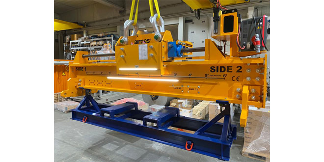 Airpes Spreader Beams for wind turbine manufacturer