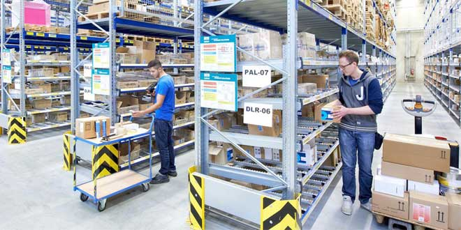BITO article on intralogistics solutions to help keep warehouses covid-compliant.