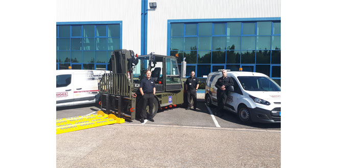 Briggs Defence extends life of RAF's cargo handling trucks