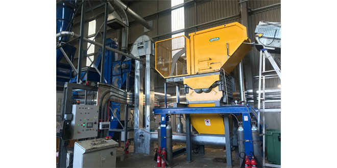 Metal specialist boosts refrigerator recycling capabilities with UNTHA shredder