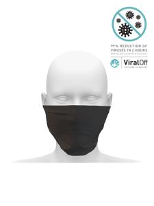 Anti viral community snood pack of 20 black 550
