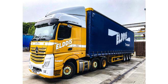 Elddis Transport boosts efficiency with SDC Freespan Trailers