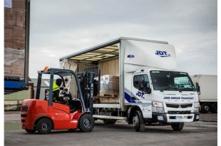 John Dinham Transport opens a new chapter with first Approved Used FUSO Canter